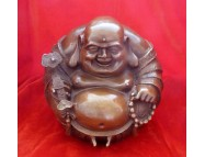 brass laughing buddha