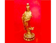 brass guanyin of good luck