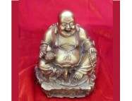 brass laughing buddha to aid friendly business success
