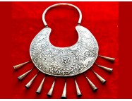 Tibetan silver necklace
